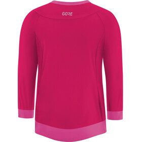 GORE WEAR C5 All Mountain 3/4 Jersey Women jazzy pink/raspberry rose
